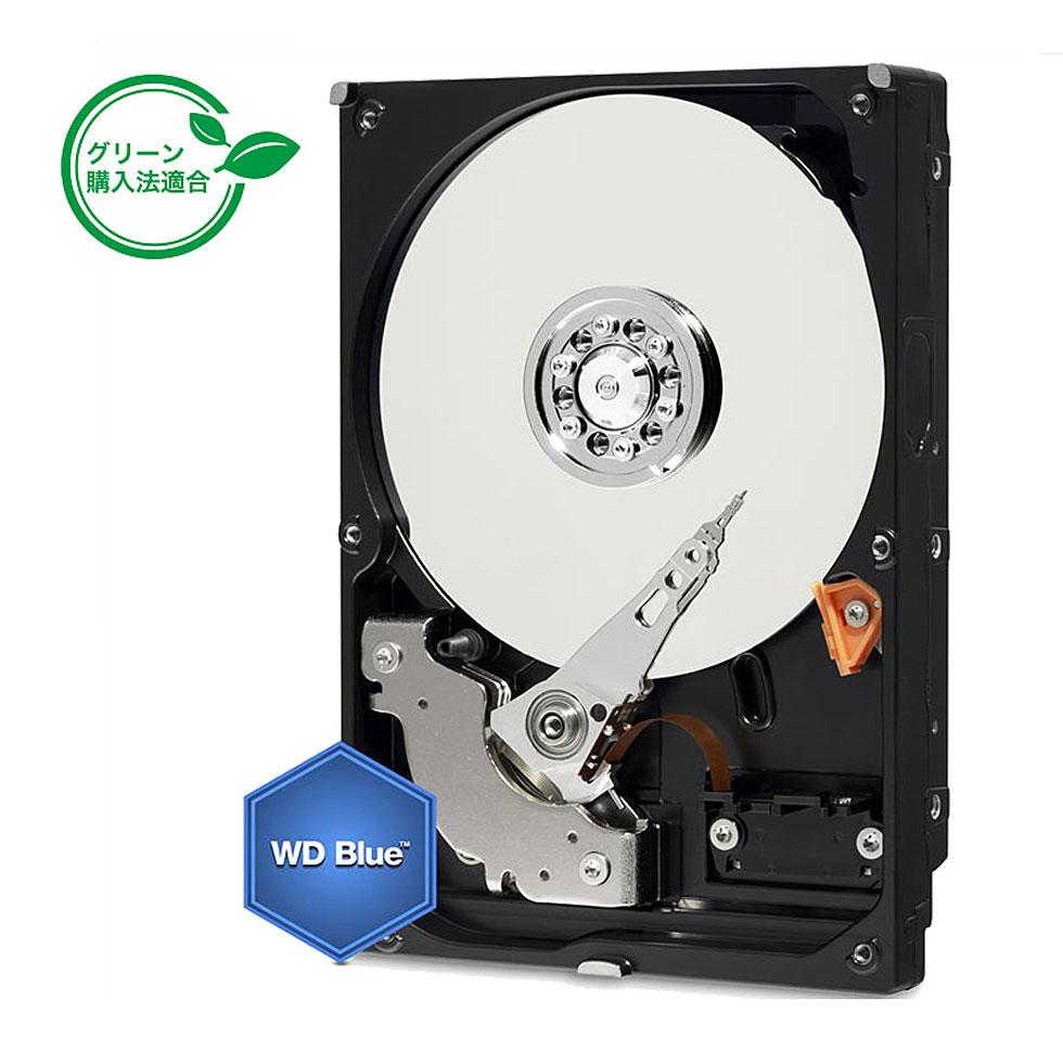 【内蔵用ハードディスク】【3.5インチ SATA】 Western Digital 3.5インチ HDD WD Blue 1TB Serial ATA (WD10EZEX) 【RCP】