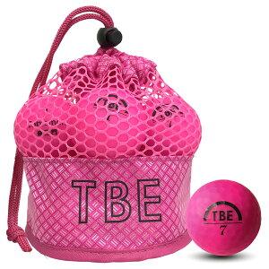 TOBIEMON(とびえもん)飛衛門ゴルフボールR&A公認球メッシュバックマットボールピンク12球1ダース飛距離UP(T-2MP)