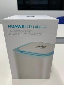 HUAWEI LTE CUBE E5180 白 無線 有線 無線LANルーター 据置型 ホームルーター 格安SIMと合わせて、家でのネット環境進化しましょう!DocomoとSOFTBANK回線利用可能!※楽天 Rakuten UN-LIMIT最適