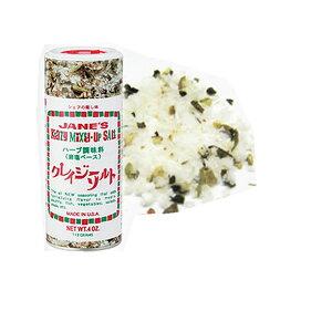 シェフの隠し味 クレイジーソルトハーブ調味料(岩塩ベース) 1本(113g入り)