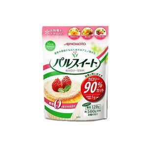 味の素 パルスイート カロリー90%カット溶けやすい顆粒120g 低カロリー甘味料糖類ゼロでまろやかな甘さ