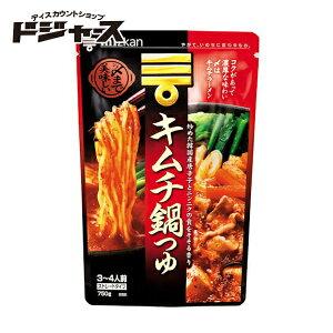 【ミツカン】キムチ鍋つゆ 750g(3〜4人前)ストレートタイプ