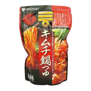 【 ミツカン 】〆までおいしい キムチ鍋つゆ750ml(3〜4人前)ストレートタイプ