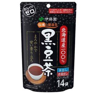伊藤園 黒豆茶 カフェインゼロ!ティーバッグ14袋入り 1袋