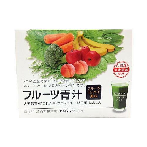 新日配薬品 フルーツ青汁 3gX15