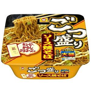 【1ケース 12個入】東洋水産マルちゃん ごつ盛りソース焼そばカップ麺 カップ焼きそば