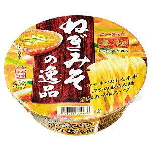 【 ニュータッチ 】 凄麺 ねぎみその逸品 1ケース(133g×12個入) 管理番号021812 カップ麺