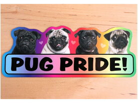 Pug Pride! 【パグ】輸入雑貨・犬グッズ・犬雑貨・パググッズ