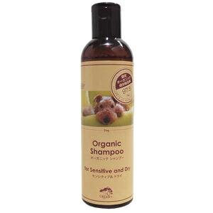 【Made of Organics for Dog (メイドオブオーガニクス)】オーガニックシャンプー フォー センシティブ&ドライ 300ml