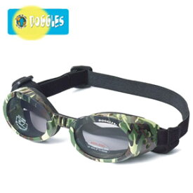 【Doggles (ドグルス)】Green Camo ILS2 Doggles with Smoke Lens(ILS2犬用ゴーグル/迷彩)