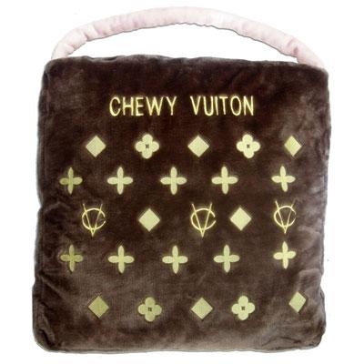 【Dog Diggin Designs】Brown Chewy Vuiton Bed(ブラウン チュウィ ヴィトン/犬用輸入ベッド)【送料無料】
