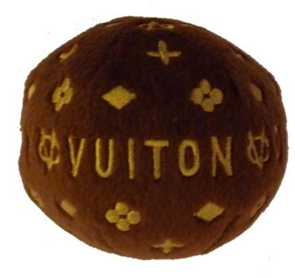 【Dog Diggin Designs】Chewy Vuiton Ball Small (犬用インポートTOY/チュイヴィトンボールS)