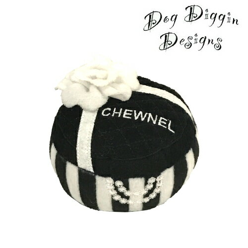 【Dog Diggin Designs】Chewnel Gift Box Toy(犬用インポートTOY/ギフトボックス/モノトーン)【あす楽対応】