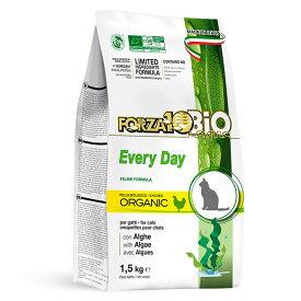 リニューアル 有機 FORZA10 エブリディ ビオ チキン 1.5kg フォルツァディエチ Every day bio キャットフード フォルツァ10