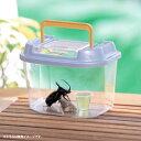 飼育ランド CY-S パールブルー ブラック 虫かご むしかご 虫籠 虫入れ カブトムシ クワガタ 昆虫採取 夏休み 自由研究…