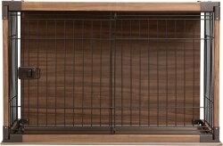 インテリアウッディサークルPIWS-960送料無料犬ケージ屋根付き犬サークル犬用ペットサークル木製風ケージゲージペットケージお掃除簡単トイレトレートイレトレーニングアイリスオーヤマおしゃれ木目調[cpir]iris60th