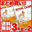 ロイヤルカナン プードル 成犬用 3kg×2個セット送料無料 正規品 犬 ドッグ BHN フード ドライ アダルト 小型犬 まと…