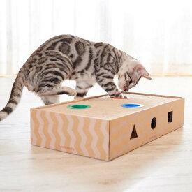 ニャンコロビ ボックス 猫 玩具 爪とぎ つめとぎ 爪研 爪磨 遊具 おもちゃ キャット トイ ねこ ネコ にゃんころび エイムクリエイツ 【D】