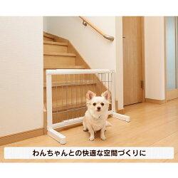 伸縮ペット用ゲートSPG-65ペットゲート伸縮小型犬犬犬用犬用品ペット用品ペットCONTINUOUSSTARブラウン/ブラックホワイト/シルバー【D】