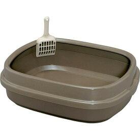 [ポイント10倍!11日1:59迄] ネコのトイレ NE-550猫 トイレ 本体 大型 ゆったり 大きめ トレー ミルキー ピンク ブルー ブラウン アイリスオーヤマ Pet館 ペット館 楽天