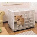 【150円OFFクーポン対象】 錆びない 犬 ケージ プラケージ 810犬 ケージ プラスチック 屋根付き サークル トイレ しつ…