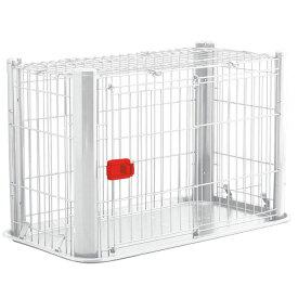 犬 ケージ 屋根付き カラースリムケージ P-CSC-901送料無料 犬 ケージ おしゃれ 犬 サークル トレー付 アイリスオーヤマ 多頭飼い トイレ しつけ 室内 ブラウン ホワイト ペットケージ ペット シンプル PUP