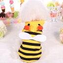 ミツバチ 蜜蜂 蜂 ハチ はち 春 夏 ハロウィン 仮装 猫 チワワ ダックス トイプードル ドッグウェア 犬服 犬 服メー…