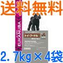 【送料無料】 ユーカヌバ 犬種別サポート トイ・プードル専用 成犬用 超小粒 1ケース(2.7kg×4袋)