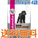 ユーカヌバ トイ・プードル 成犬用 1ケース(2.7kg×4袋)