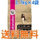 ユーカヌバ シニア用 全犬種用 ラム&ライス 超小粒 1ケース(2.7kg×4袋)