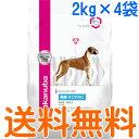 ユーカヌバ 関節すこやかに 成犬用 全犬種用 1ケース(2kg×4袋) (センシティブジョイント)