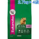 (取寄:1〜2週間) ユーカヌバ スーパーシニア用 小型犬用 超小粒 1ケース(2.7kg×4袋) (スモールスーパーシニア)