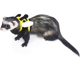 レインボー ferret ランランハーネスウェア みつばち S