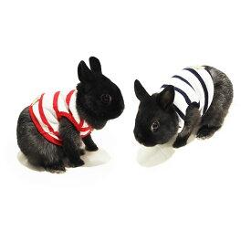 レインボー rabbit ボーダータンクトップ