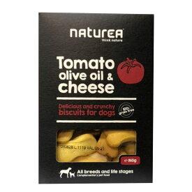 ナチュレア・ビスケット トマト&オリーブオイル&チーズ 犬用おやつ 140g