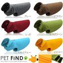 犬服 ブランド かわいい 小型犬 防寒 PETFiND 犬 冬服 フリースポンチョ 優しい暖かさ マジックテープタイプ 6サイズ …