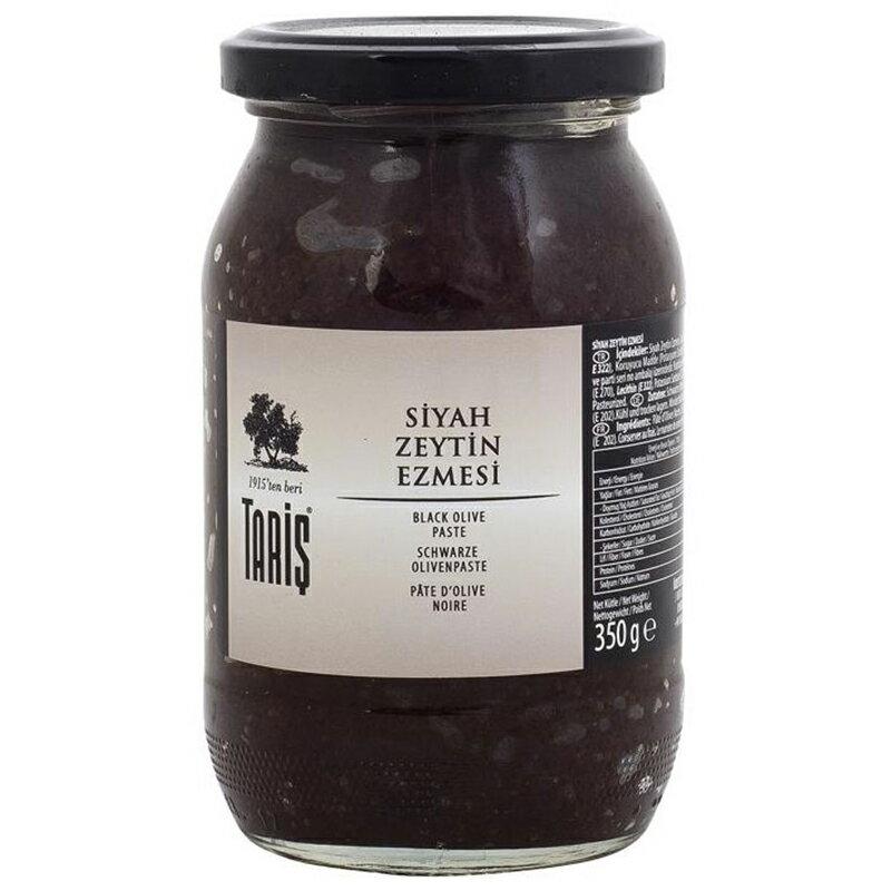 TARIS タリッシュ ブラックオリーブペースト 350g SIYAH ZEYTIN EZMEZI