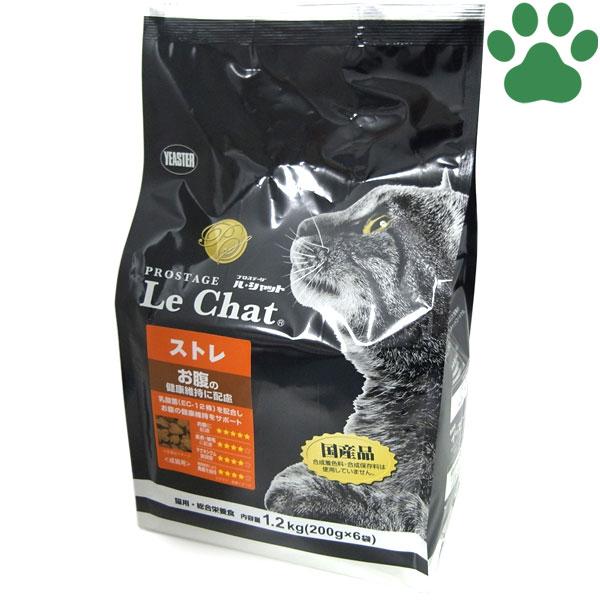【14】 [正規品] イースター 猫ドライ プロステージ ル・シャット ストレ 1.2kg (200g x 6袋) お腹の健康維持 国産 ルシャット キャットフード