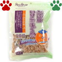 【4】 ペッツルート 犬猫用おやつ 無添加 いりこ入り まぐろけずり ふわふわ花 30g 国産 ふりかけ