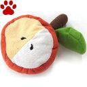 【7】 ペッツルート でっかいフルーツ リンゴ 小型犬用 おもちゃ ぬいぐるみ カラカラ鳴ります。りんご