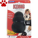 【2】 愛犬用 しつけ/知育玩具 KONG ブラックコング M 中型犬 成犬用 ゴムの硬さ;固め 犬 おもちゃ オモチャ トレーニング コング