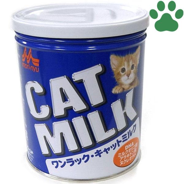 【4】 ワンラック キャットミルク 270g 子猫/成猫 計量スプーン付き 総合栄養食 森乳サンワールド 粉末 猫用 国産