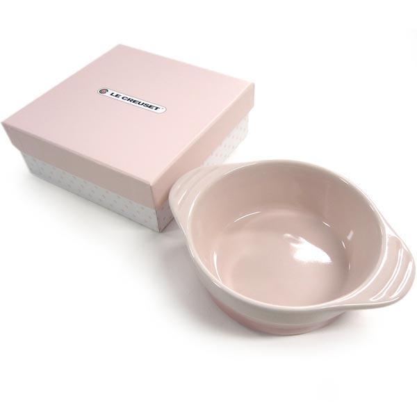 【15】正規品 ルクルーゼ ベビー ディッシュ ミルキーピンク ストーンウェア 電子レンジ/オーブン/食洗機対応
