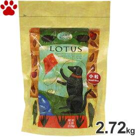 【30】 ロータス アダルト ラムレシピ 小粒 成犬用 2.72kgオーブンベークド ナチュラルフード ドッグフード ドライフード 犬 全犬種 LOTUS
