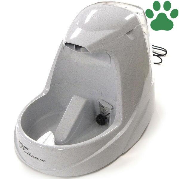 【120】 [正規品] Pet Safe ドリンクウェル ペットファウンテン プラチナム 5L 猫用 循環式 自動給水器 ラジオシステムズ