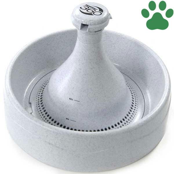 【130】 [正規品] Pet Safe ドリンクウェル ペットファウンテン 360 3.8L 猫用 循環式 自動給水器 ラジオシステムズ