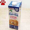 【11】 ドギーマン ペットの牛乳 幼犬用 1リットル 生乳使用 犬用ミルク 子犬