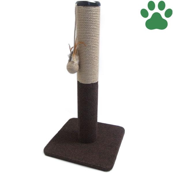 【40】 キャティーマン 猫用ファニチャー モダンルーム 爪みがきポール 音がなるおもちゃ付き ドギーマン