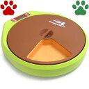 【45】 ドギーマン 犬猫用(体重10kgまで) 自動給餌器 楽しい おるすばんボウル 電池式 最大5食(1食+タイマー4食)