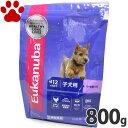 【11】 [正規品] ユーカヌバ 子犬用(離乳期から12か月) 小型犬用/中型犬用 超小粒 800g ドッグフード ユカヌバ